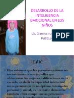 DESARROLLO DE LA INTELIGENCIA EMOCIONAL EN LOS NIÑOS