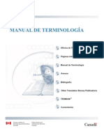 Manual de Terminologia