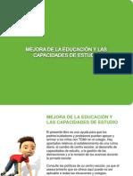 Mejora La Educacion y Las des de Estudio Con TDAH