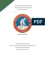 Gestión de los Recursos Financieros de la Dirección de Área de Salud de Jalapa