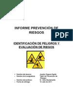 Identificación de Peligros y Evaluación de Riesgos