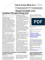 October 20, 2011 - The Federal Crimes Watch Daily