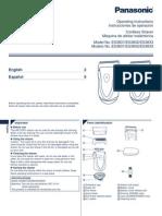 Panasonic ES3831 Manual