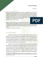 A ÉTICA DA PSICANÁLISE - Fani_Hisgail