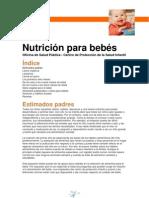 Nutricion Para Bebes