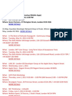 London Silicon Roundabout Weekly Newsletter 27-May-2011
