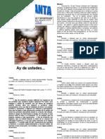 Hora Santa Yo Les Enviare Profetas y Apostoles Tiempo Ordinario Octubre 13, 2011 Semana No. 28