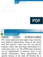 Cmos Vlsi Logic Structures 5th Sem