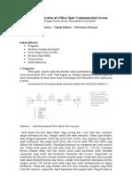 Pertimbangan Desain Sistem Komunikasi Serat Optik (Design Consideration of a Fiber Optic Communication System)