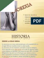 Diapositiva Anorexia