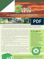 Folleto de Certificación Green Lead