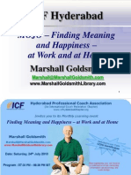 24 July 2010 - Finding Your MOJO - Marshall Goldsmith