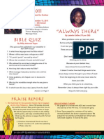 Christlove Newsletter Oct-Dec 2011