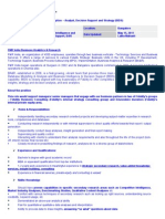 5JD_ Analyst_Decision Support and Strategy May 2011