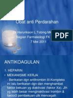 Obat Anti Anemia & Obat Anti Perdarahan