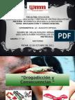 Informática aplicada a la educación-Melvin-Sara-Rubén-Luis-La drogadicción.