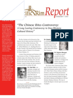 Chinese Rites Controversy Article