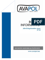 Boletín nº 8 (Abril-Septiembre 2011)