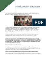 America's Founding Fathers & Judaism (Jerusalem Post)