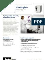 Générateurs d'hydrogène