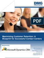 Microsoft Dynamics CRM Marketing White Paper Customer Retention DMG Consulting