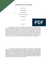 Db Methodology Regulation of Labor