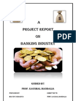 Banking Industry Report Bhavin