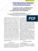 7.the Influence of Reaction Conditons on the Properties of Grafted Natural Rubber