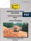 Construction Supervision Manual for Roadworks - JKR 20407-0003-90