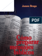 James Braga Como Preparar Mensajes Biblicos