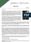 Newsletter 5 Michaelmas Term 2011