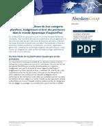 Livre Blanc Aberdeen Group - Planning Budget Prévisions