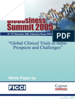 Clinical Trial in India, Prospects & Challenge