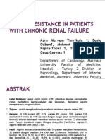 Aspirin Resistance in Patients With Chronic Renal Failure