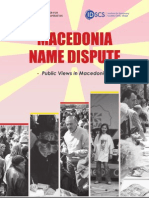 Macedonia Name Dispute