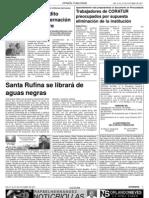 Columnas Senderos de Apure.com y Noticriollas del Semanario Notisemana N. 22