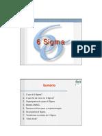 6 Sigma - Apresentação