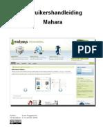 handleiding Mahara-200911
