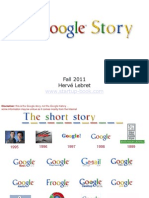 A Brief History of Google - Lebret