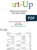 Start Up What We May Still Learn From Silicon Valley Lebret