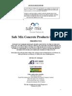Prospectus - 2010 - SafeMix
