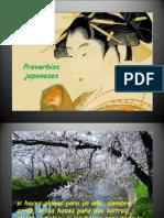 PROVERBIOS JAPONESES-