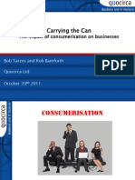 Carrying the can - the impact of consumerisation on businesses
