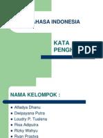 B.indonesia Kata Penghubung