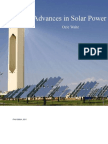 Advances in Solar Power