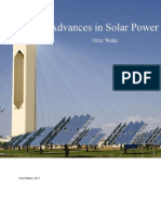 Advances in Solar Power