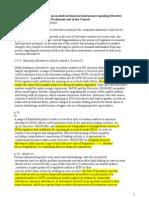 MiFID II on Emissions Allowances