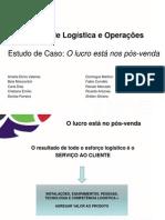 Apresentação Logistica serviço ao cliente