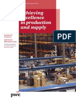 Achieving excellence in production and supply