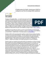 PMFC communiqué du 19 oct. 2011